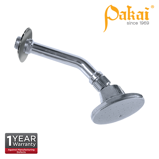 Pakai Chrome Plated Abs 4 inch Diameter Ball Joint Shower Rose A503/6C