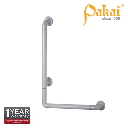 Pakai Wall Mount Nylon Covered Angled Grab Bar 700mm BF-88083-700