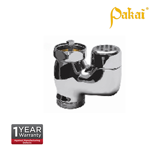 Pakai Chrome Plating Vacuum Breaker for Wash Closet(WC) Flush Valve CF607WC