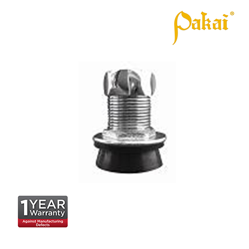 Pakai Chrome Plating Metal Spud for Urinal Flush Valve CF 610UR
