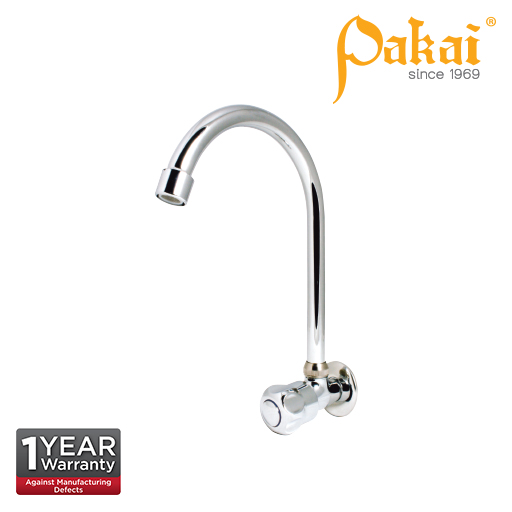 Pakai CROWN Knob Handle Wall Sink Tap  CRW-WST