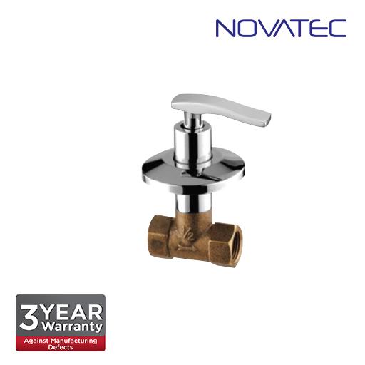 Novatec 1/2 Inch Concealed Stopcock EC-1117-QT