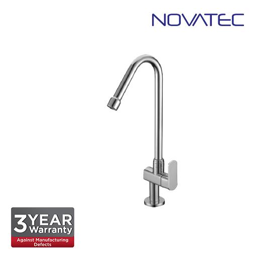 Novatec Quarter Turn Pillar Sink Tap With Swive Spout FA2123