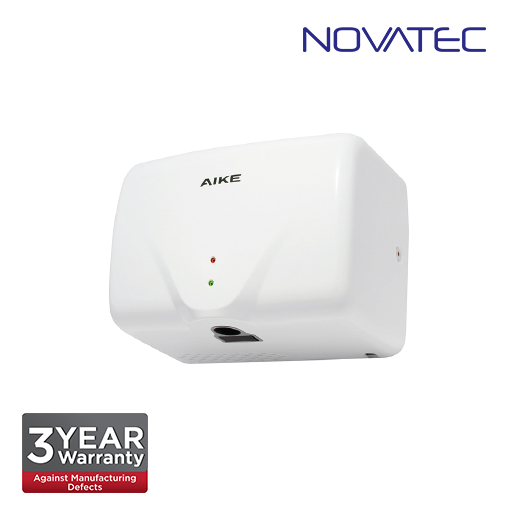 Novatec Automatic High Speed Hand Dryer In White ABS Casing With Uv Sterilization Light HD-2803K