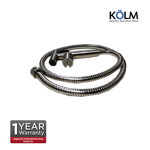 KOLM Stainless Steel SS304 Bidet Spray with bracket and  1.5m Stainless Steel Flexible Hose  KM5000