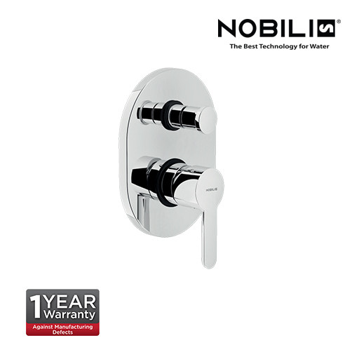 Nobili ABC Single Lever Bath Shower Mixer with Diverter