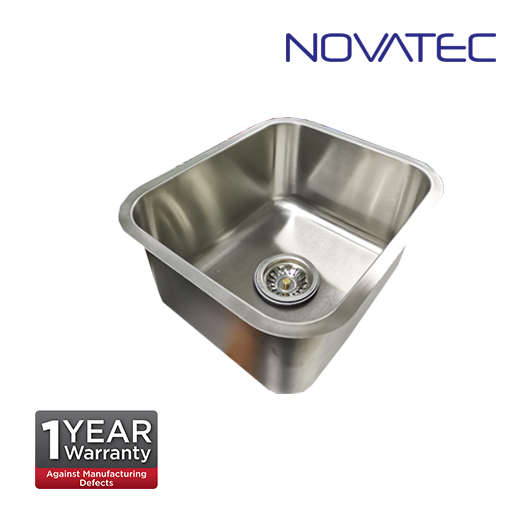 NOVATEC Single Bowl Undermount Stainless Steel (Grade 304) Sink  OKG-MB4236