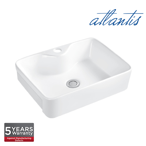 Atlantis Serifos 480 SRB Semi Recessed Basin SR6014