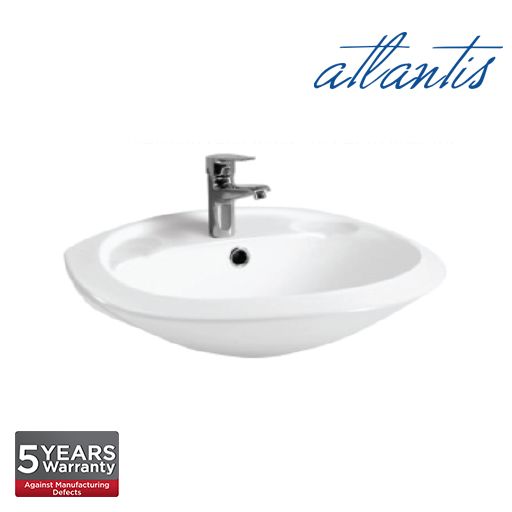 Atlantis Kavala 495 Wall Hung Basin TO3322
