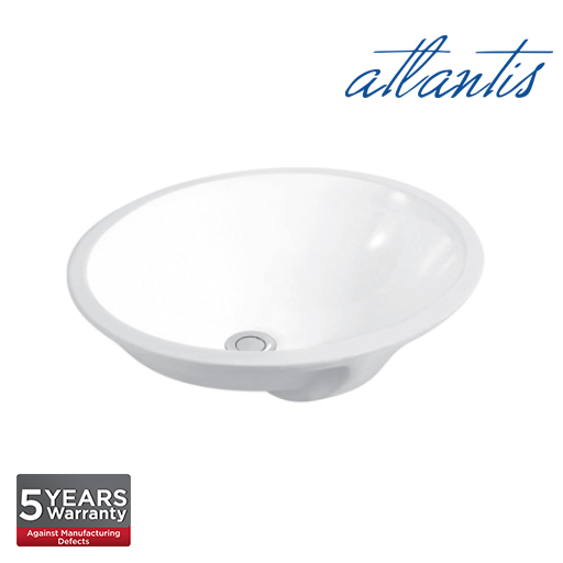 Atlantis Icaria 490 Oval Under Counter Basin UC6001