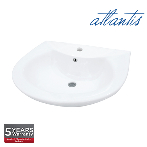 Atlantis Lamia Wall Hung Basin WB6002