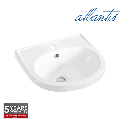 Atlantis Larissa 410 Wall Hung Basin WB6005
