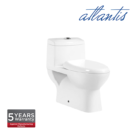 Atlantis Seville One Piece Wash Down Pedestal Water Closet WC1001S