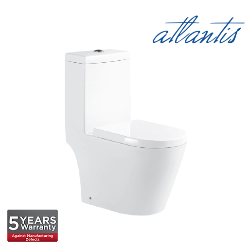 Atlantis Vienna Op One Piece Wash Down Pedestal Water Closet WC1006S