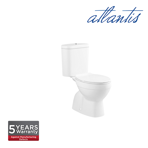 Atlantis Narva  Medium Duty Toilet Seat Cover Close Couple Wash Down Pedestal Water Closet WC2001S