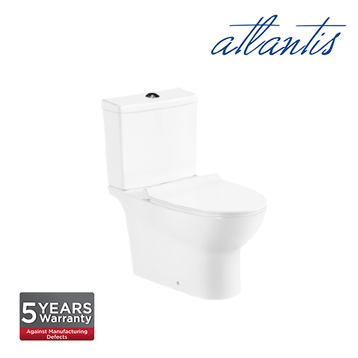 Atlantis Lublin Close Couple Wash Down Pedestal Water Closet WC2008S
